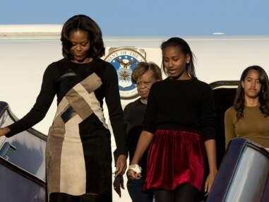 Gala.fr - Michelle Obama et ses filles de visite en Chine -
