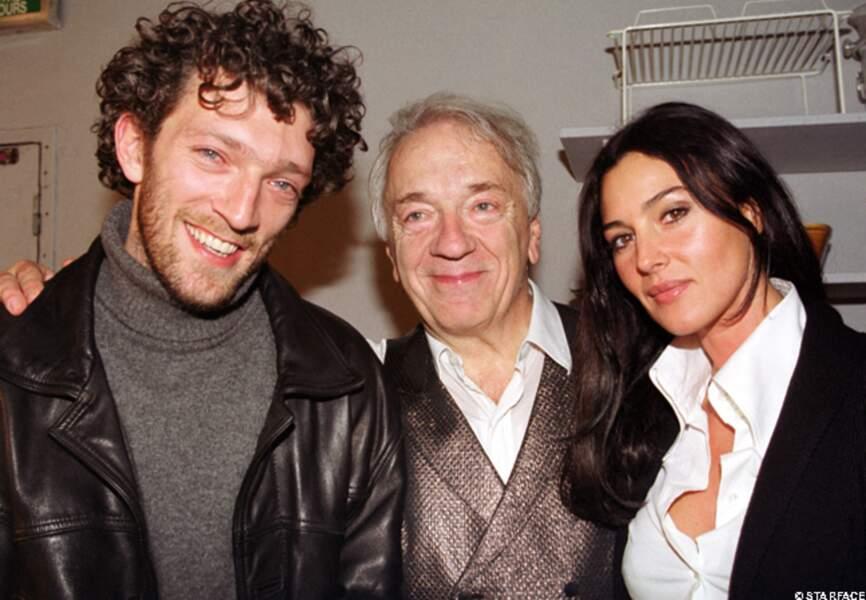 Les Cassel accueillent Monica dans leur clan en 2000