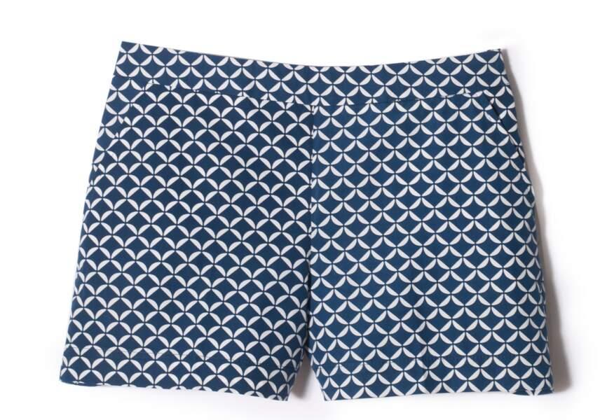 Short en coton, Gant, 140€