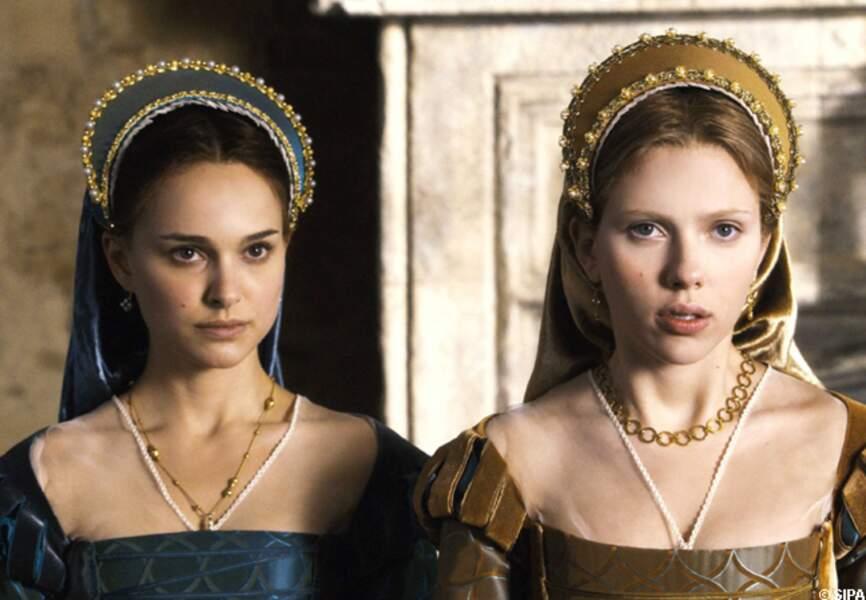 Natalie Portman joue avec Scarlett Johansson dans Deux soeurs pour un roi