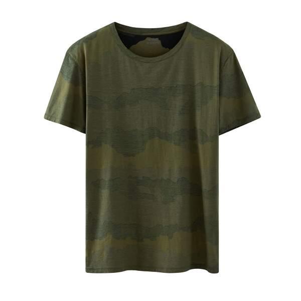 T-shirt militaire A.P.C. Kanye, 70€