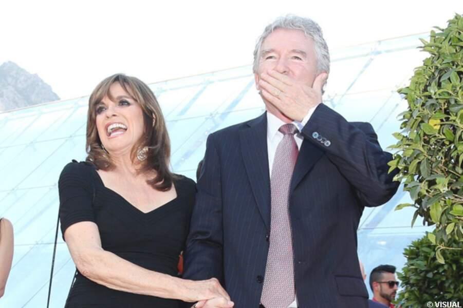 Linda Gray et Patrick Duffy touchés par l'accueil au forum Grimaldi