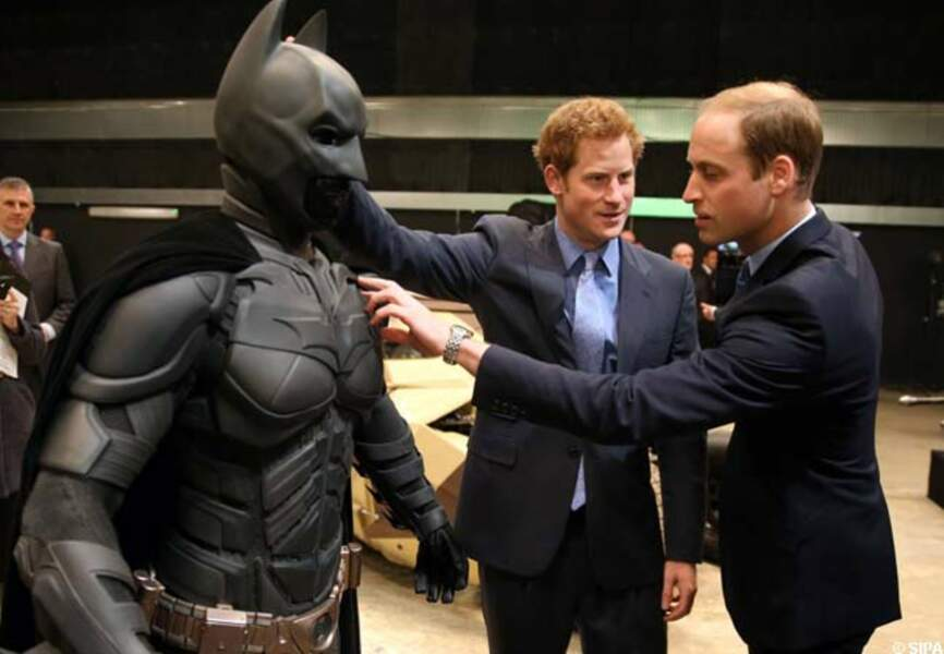 Rencontre avec Batman