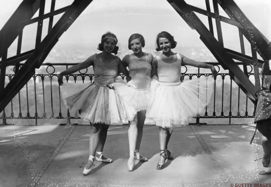 Les danseuses du Moulin Rouge
