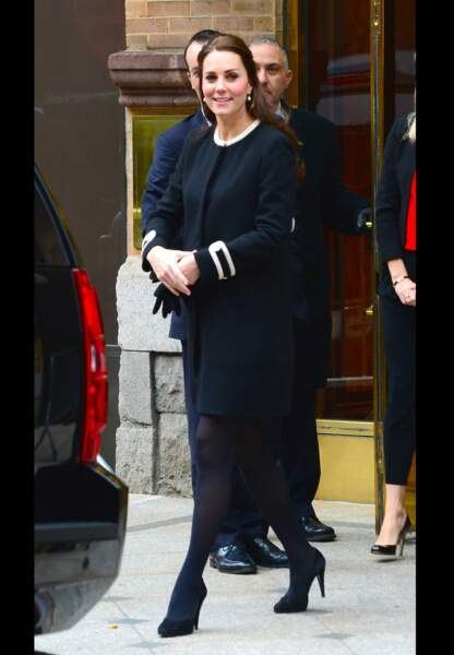 Princesse Kate, ultrachic dans son manteau Goat d'inspiration sixties
