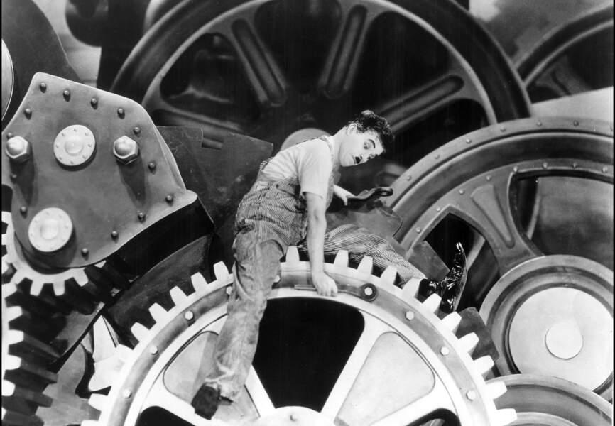 Charlie Chaplin Les Temps Modernes 1936