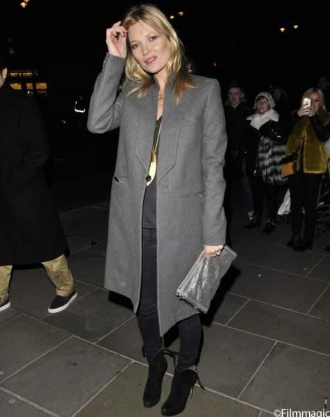 Kate Moss au style boyish