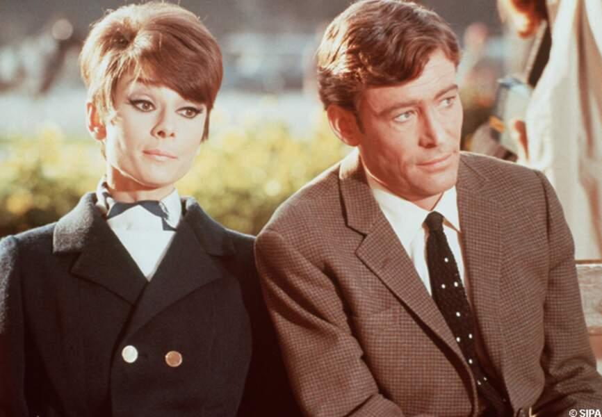 Peter O'Toole et Audrey Hepburn dans Comment voler un millionnaire en 1966