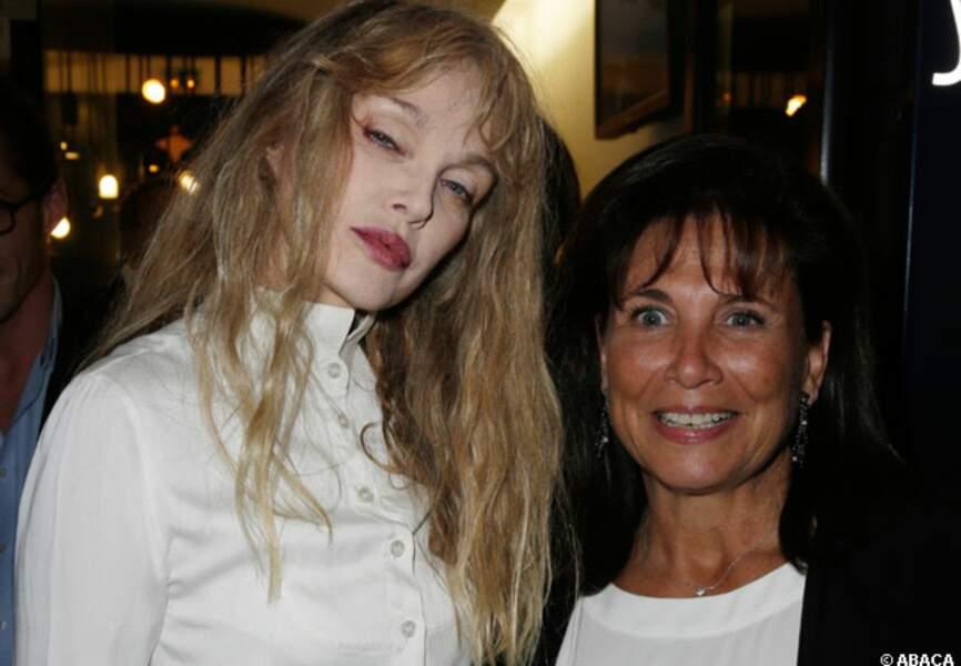 Arielle Dombasle et Anne Sinclair