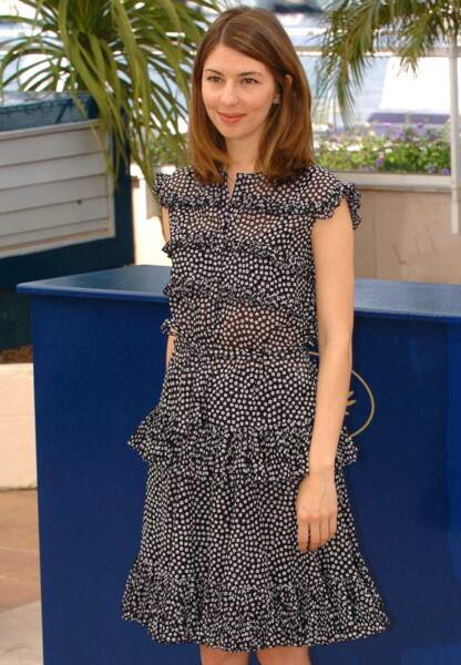 Photocall pour son film Marie-Antoinette. 2006