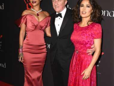 Rihanna en Zac Posen pour son premeir gala de charité