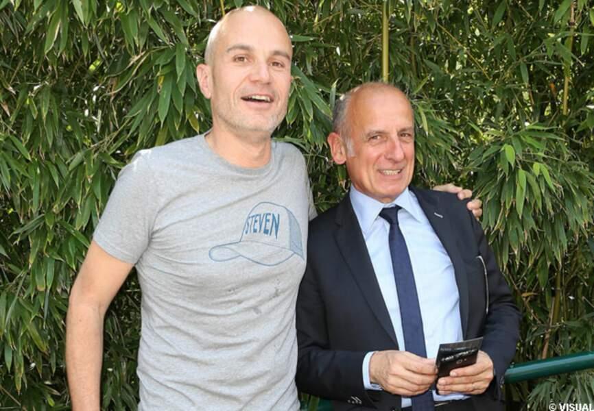 Laurent Weil et Jean-Michel Apathie