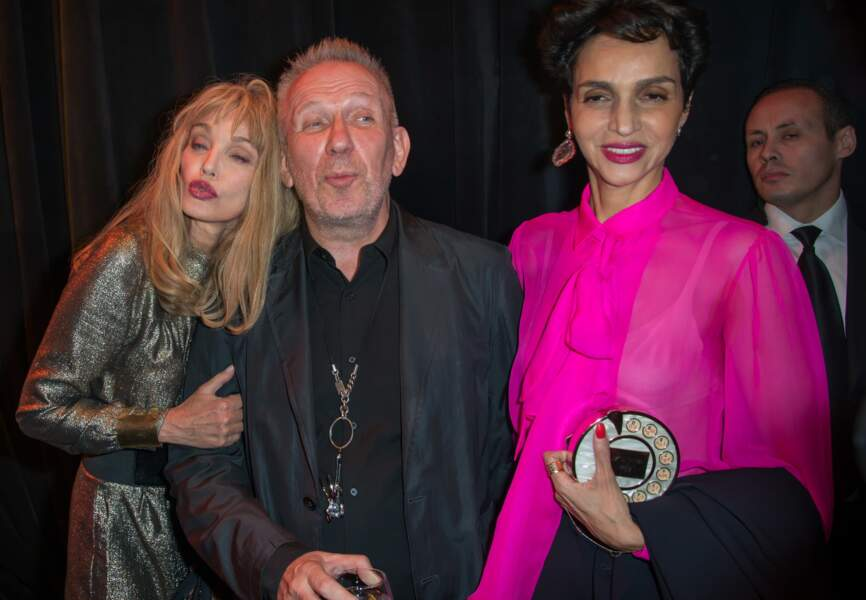 Arielle Dombasle, Jean-Paul Gaultier et Farida Khelfa-Seydoux