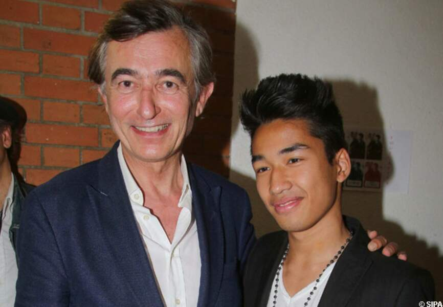 Philippe Douste Blazy et son fils