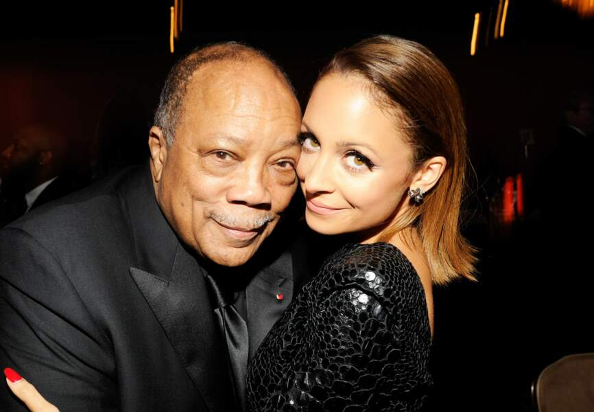 Quincy Jones parrain de Nicole Richie