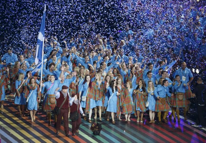 Défilé d'ouverture des Commonwealth Games 2014
