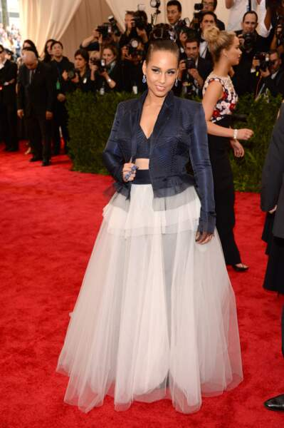 Alicia Keys en Jean Paul Gaultier