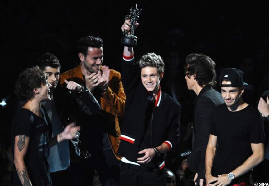 Les One Direction récompensés