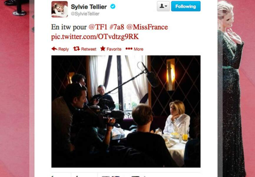Sylvie Tellier très sollicitée après l'élection de Miss France