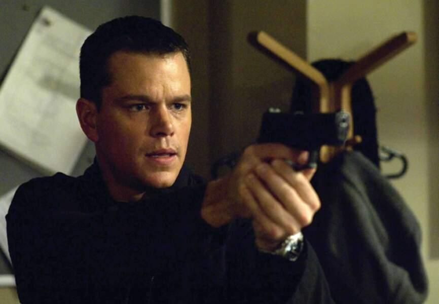 Jason Bourne en quête de son passé dans La mémoire dans la peau en 2002