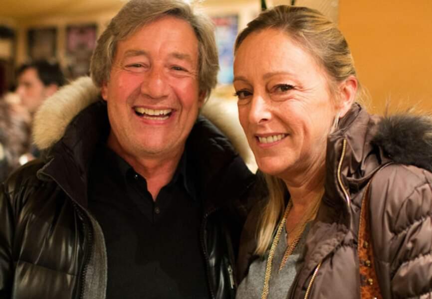 Partrick Sabatier et sa femme