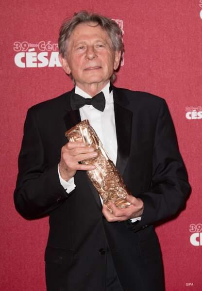 Pour la 4e fois, Roman Polanski a remporté le César du Meilleur réalisateur