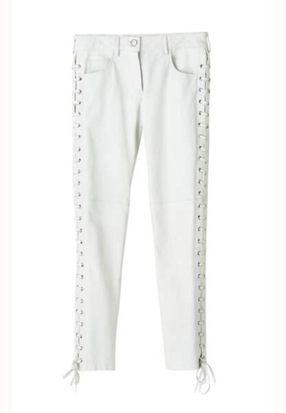 Pantalon en cuir 249€