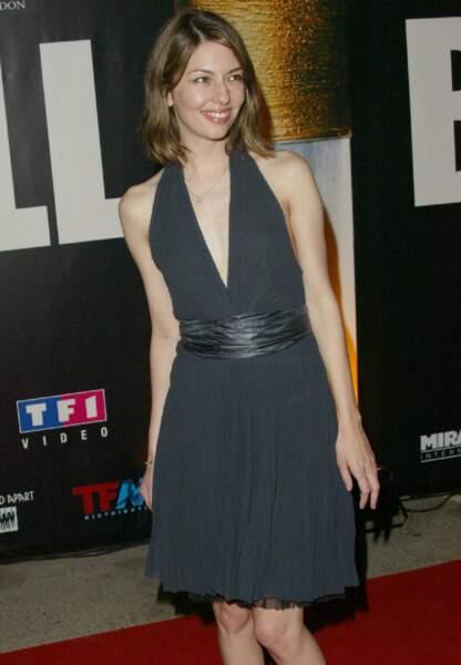 """En 2004, à l'after party pour """"Kill Bill Vol.2"""""""