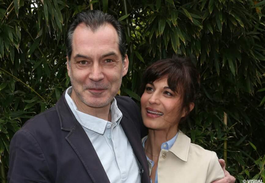 Samuel Labarthe et Hélène Médigue