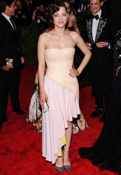 Marion Cotillard en Christian Dior Couture
