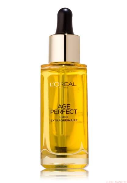 huile extraordinaire Age perfect de l'Oréal paris