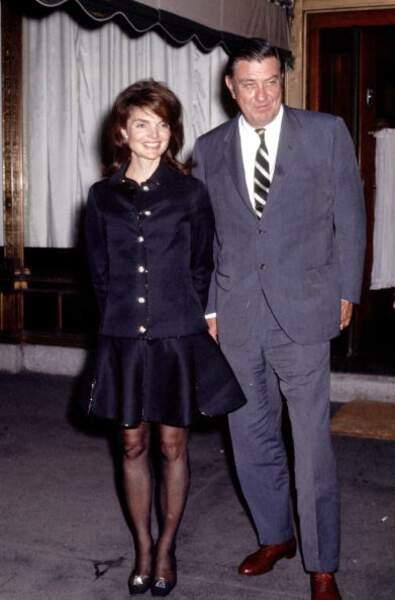 Jackie Kennedy et Franklin Delano Roosevelt Jr., en 1969