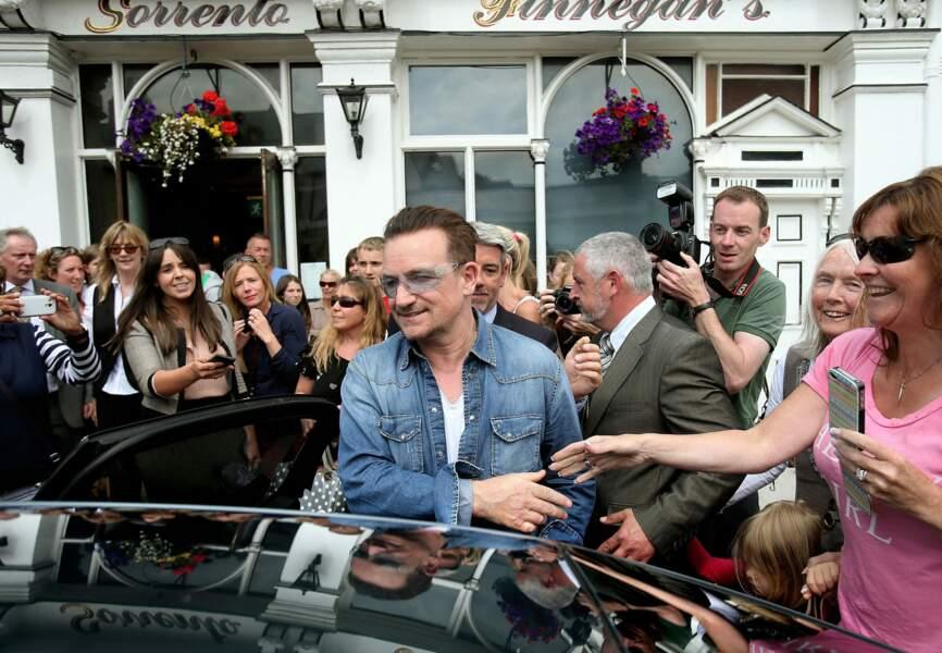 Bono et ses fans