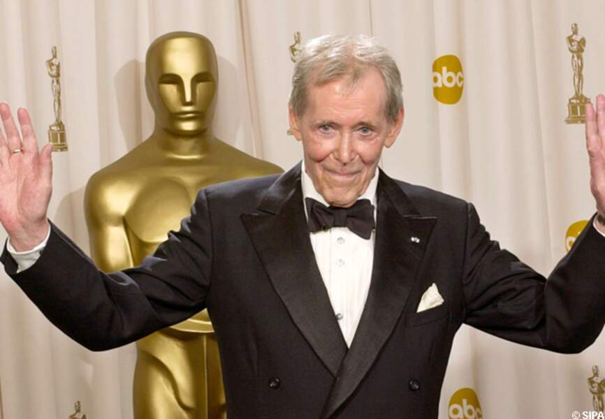 Peter O'Toole aux Oscars en 2003