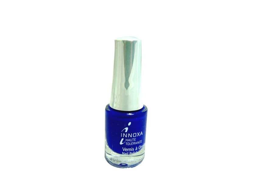 Bleu électrique, Innoxa, 5,50€