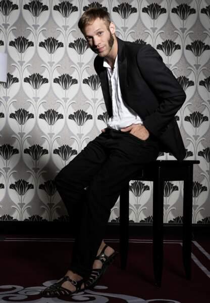 En ce moment, Paul Hamy, acteur révélation, fait le buzz (et le grand saut) dans le spot Lacoste