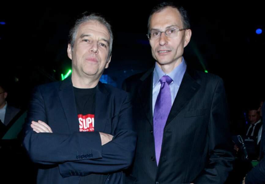 Philippe Vandel et Serge Naudin (Président du directoire de BMW Groupe France)