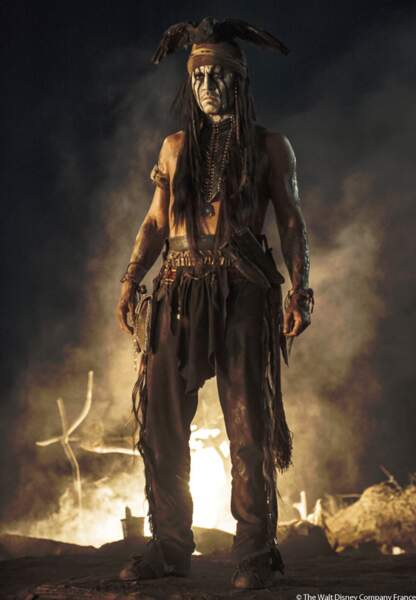 Johnny Depp, indien dans Lone Ranger