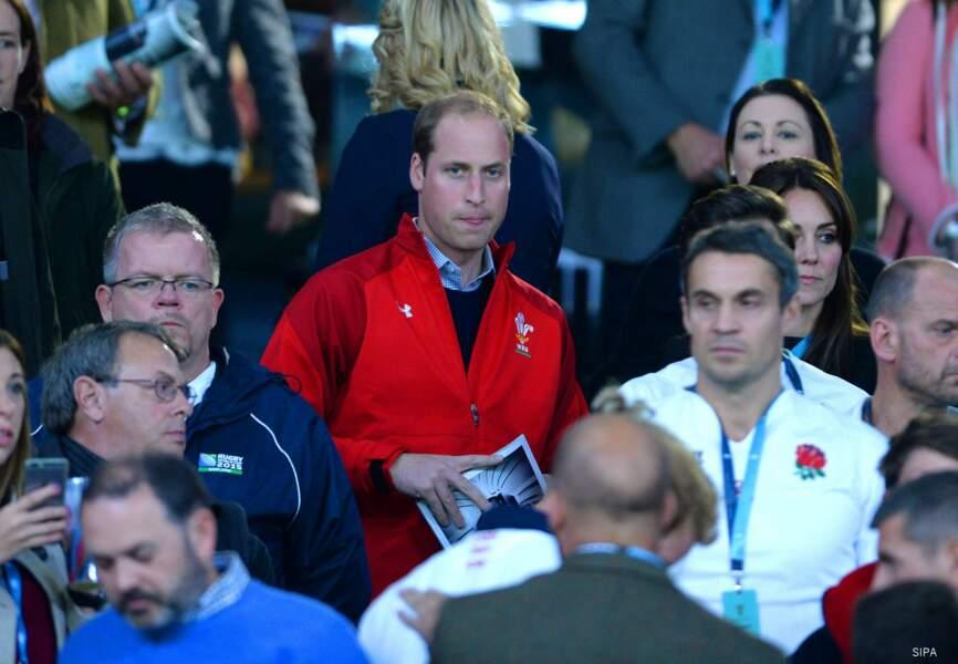 Le duc et la duchesse de Cambridge à leur arrivée à Twickenham