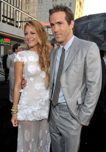 Le couple à la première de Green Lantern, le film qui a permis leur rencontre