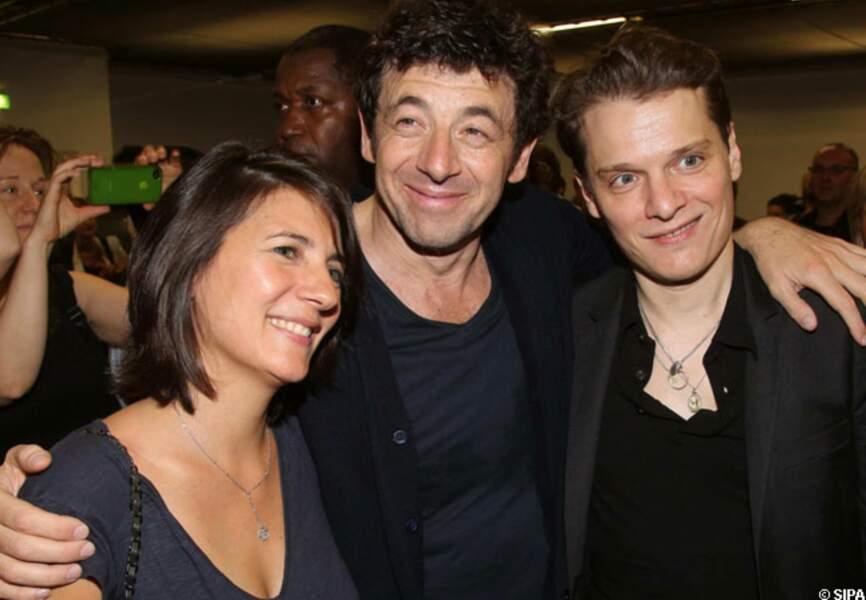 Estelle Denis, Patrick Bruel et Bénabar