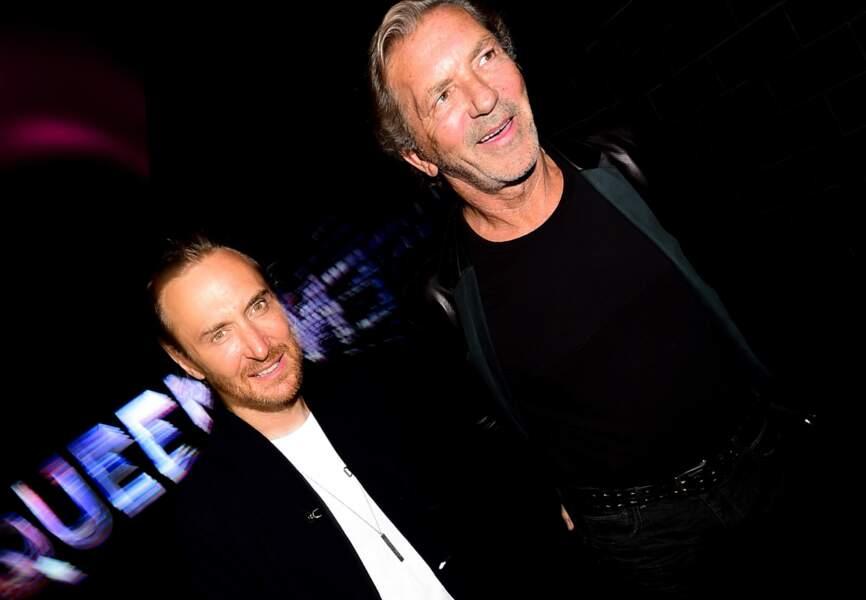 David Guetta et Philippe Fatien (patron du Queen)