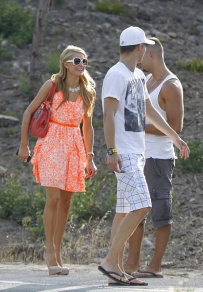 puis à Ibiza en 2013 avec un nouvel amoureux