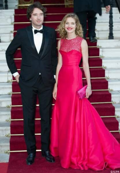 L'hôte de la soirée, la top Natalia Vodianova, et son compagnon Antoine Arnault
