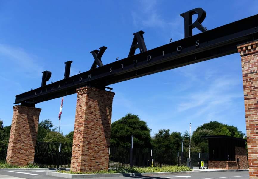 La grille d'entrée des studios Pixar