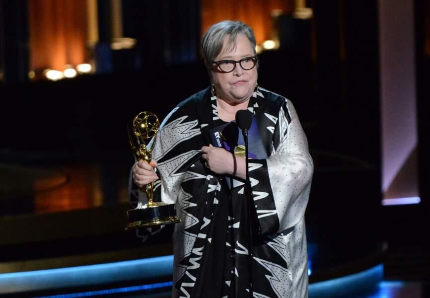 Kathy Bates meilleur second rôle féminin dans une mini-série ou un téléfilm (American Horror Story: Coven)