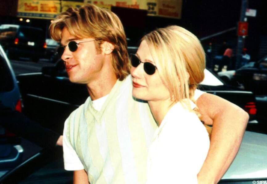 Brad Pitt et Gwyneth Paltrow amoureux en 1995