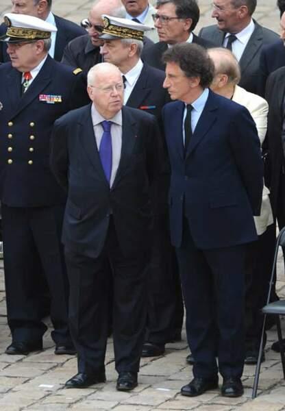 Michel Charasse et Jack Lang