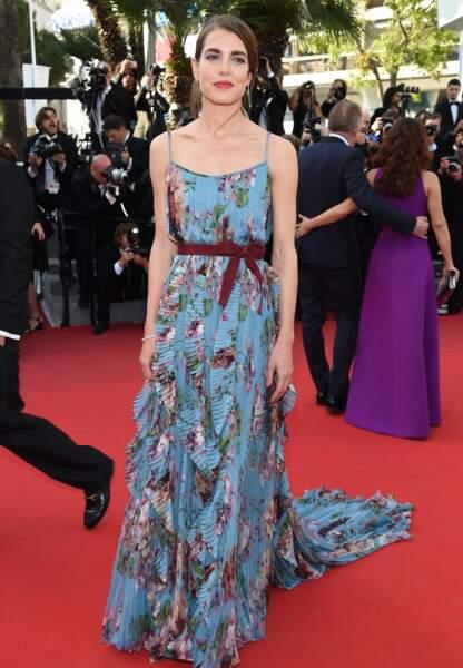 Charlotte Casiraghi le 17 mai 2015 au Festival de Cannes