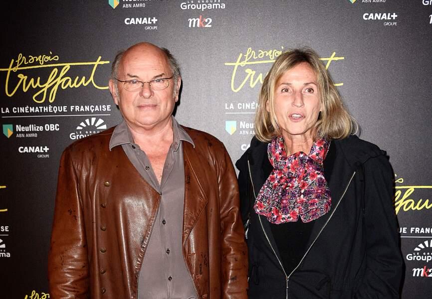 Jean-François Stévenin et sa femme